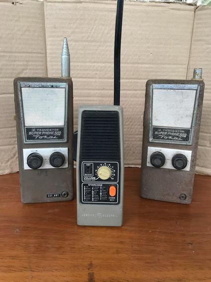 Três Rádios Transmissores Tokai
