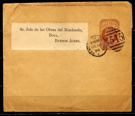 Numismza Reino Unido 1896 Faja Alto Valor ( S 108) Oferta