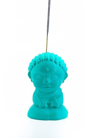 Buda Porta Sahumerio Deco Pisapapeles Portasahumerio Budita