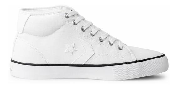Tênis Converse Star Replay Mid Branco