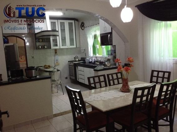 Lindo Sobrado 3 Dorms 1 Suite -2 Vgs-thelma S.b.c - 8014