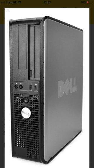 Computador Del 780 Core 2 Duo 3.0 Gravador Dvd 4 Giga Hd250