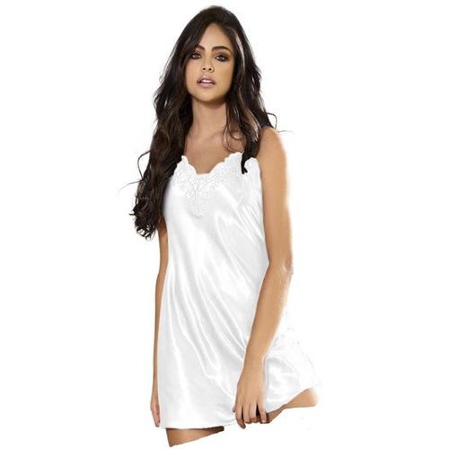 Pijama Bata Batola En Satin Mujer Bordada Calidad Envio Ya