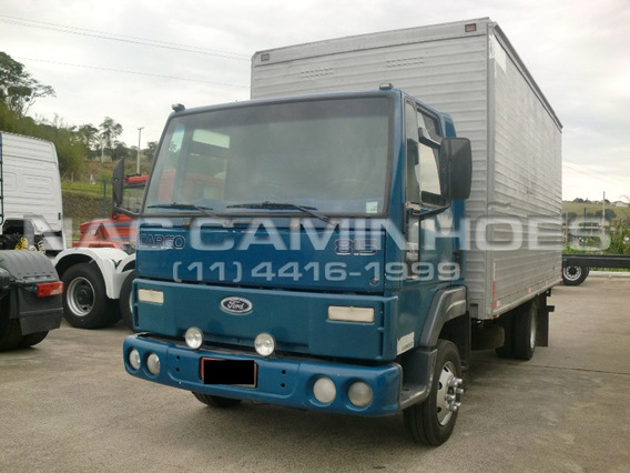 Ford Cargo 815 Ano 2001/2001 Bau 5,20 Mts