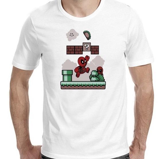 Remeras Deadpool Mario Bross |de Hoy No Pasa|