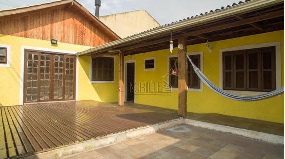 Casa Espaçosa, Arejada E Com Ótima Posição Solar Na Praia Dos Ingleses. - Ca0640
