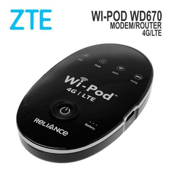 Bam Modem WiPod WiPod Internet 4g Lte Digitel (35vrds)