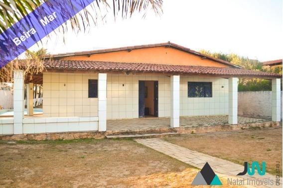 Venda De Casa Na Beira Mar Da Praia Da Redinha Nova, Com 5 Quartos, E Em Local De Fácil Acesso. - Ca00083 - 32895406