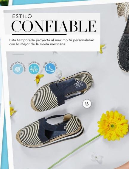 Flats Azul Marino/blanco 986-26 Cklass Primavera-verano 2020