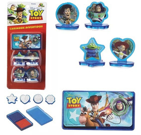 Carimbos Divertidos Toy Story 6 Peças