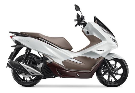 Honda Pcx 150 Dlx Abs - Branco 0km Sem Entrada - Pinda-sp