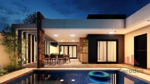 Imagem 1 de 7 de Casa Com 3 Dormitórios À Venda, 140 M² Por R$ 1.000.000,00 - Condomínio Engenho Velho - Nova Odessa/sp - Ca2685