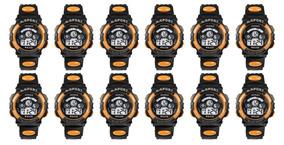 Kit 12 Relógios Pulso Dig. Infantil - P. D