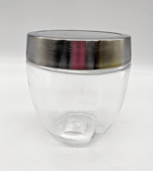 Frasco Vidrio Tapa A Rosca Aluminio 13 Cm Serbazares