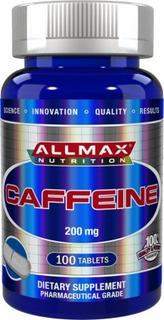 Cafeína 200mg 100tb Allmax ( Importado) - Pronta Entrega!
