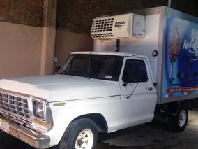 Ford F100 81 +caja Térmica Helados + Equipo Frío + Compresor
