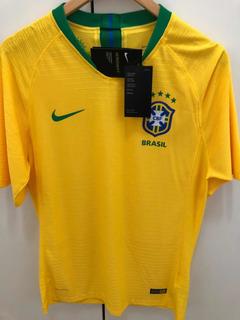 Camisa Seleção Brasileira 2018/2019 - Jogador Vaporknit Nova