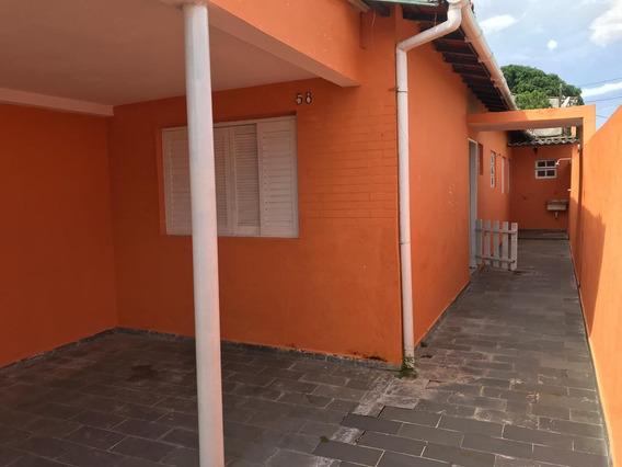 Excelente Casa Ficando À 400 Do Mar Metros Do Jd. Suarão!!!
