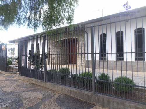 Casa Residencial À Venda, Jardim Alto Da Boa Vista, Valinhos - Ca1600. - Ca1600