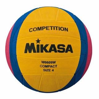 Balón Mikasa Waterpolo Femenino #4 Competition W6609w