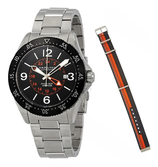 Relógio Hamilton Khaki Aviation H76755131 Automático Air R