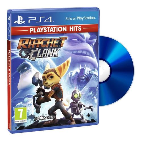 Juego Ps4 Fisico Ratchet & Clank Original Sellado
