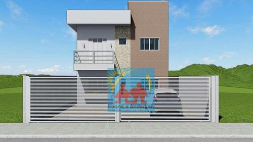 Casa Com 2 Dorms, Suarão, Itanhaém - R$ 195 Mil, Cod: 894 - V894