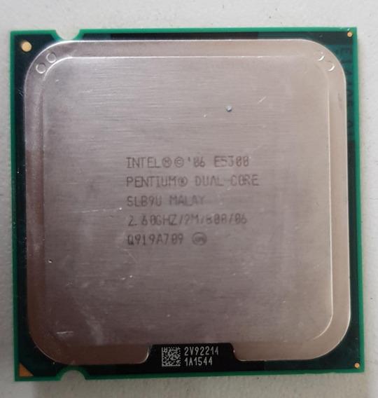 Processador Intel Dual Core E5300 2,60ghz Usada Ref: 01547