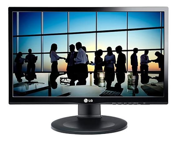 Monitor Lg Led 19,5 - 20m35ph Ajuste De Altura E Inclinação