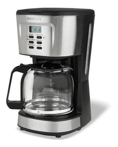 Imagen 1 de 1 de Cafetera Smartlife Digital SL-CM1095 automática negra y gris de filtro 220V - 240V