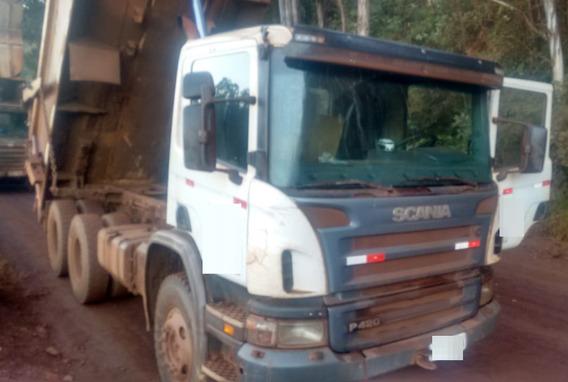 Caminhão Scania P420 6x4 Ano 2010/2011