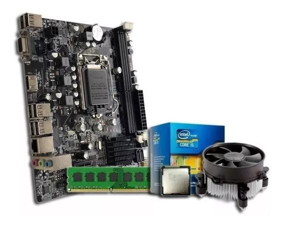 Kit Upgrade Cpu Intel I5 2400s + Placa H61 + 4gb Ddr3