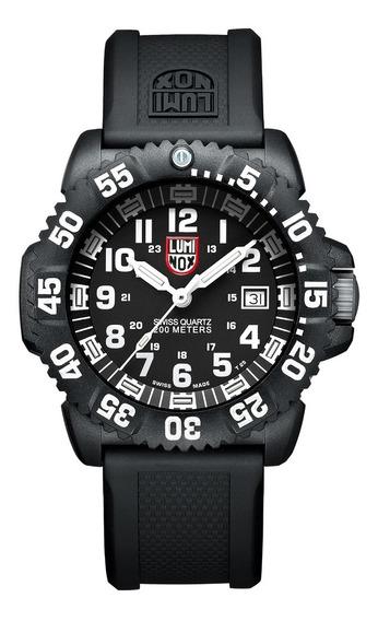 Relógio Luminox Navy Seal Xs.3051 Colormak Militar Preto