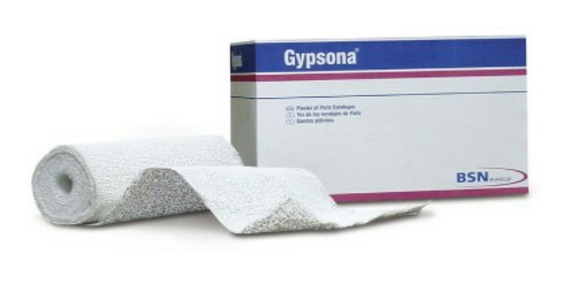 24 Vendas De Yeso Gypsona 10cm
