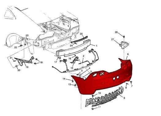 Parachoque Traseiro Spin Com Furo Sensor Estacionamento