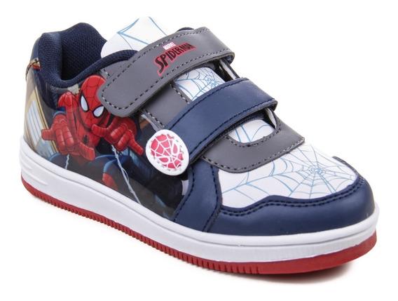 Zapatillas Marvel Spiderman Hombre Araña Niños Nenes Urbano