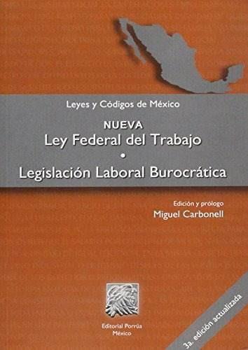 Libro Nueva Ley Federal Del Trabajolegislacion Laboral Bur