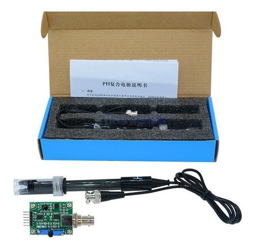 Imagem 1 de 5 de Modulo Sensor Ph Completo - Arduino Pic Rasppi