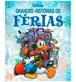 Lote 30 Revista Hq Grandes Histórias De Férias Disney
