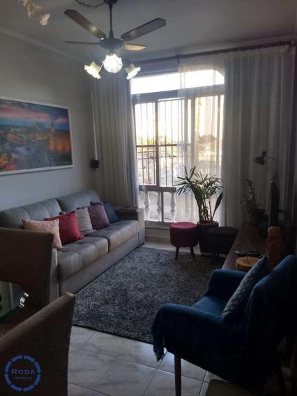 Apartamento Com 2 Dorms, Vila Mathias, Santos - R$ 340 Mil, Cod: 16753 - V16753