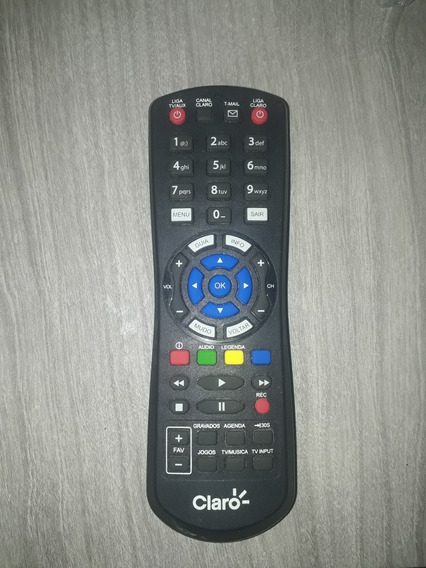 Controle Remoto Claro Tv Hd- Original