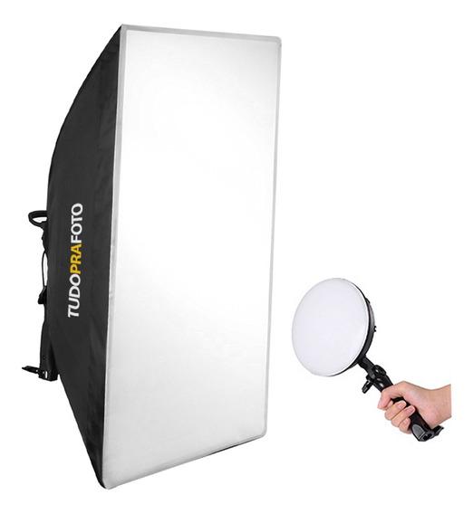 Softbox 50x70 C/ Iluminador Led 50/60hz Bivolt - Shled-004