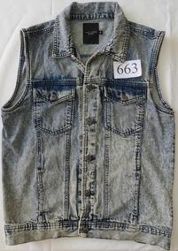 6a9de388b7 Colete Jeans Da Marca New Look Masc Tamanho M - J663