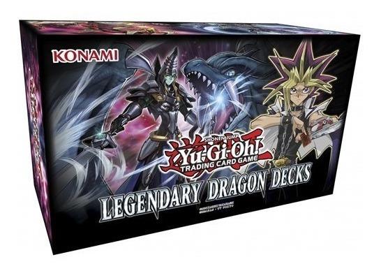 Yu Gi Oh! Legendary Dragon Deck En Ingles 153 Cartas