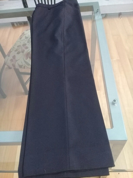 Pantalon Mujer Color Negro Urbano Talle 40