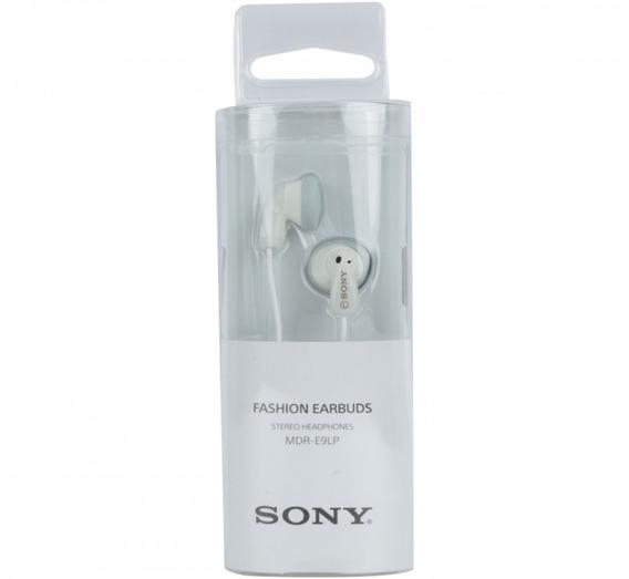 Fone De Ouvido Headset Som Alto Sony E9lp - Original