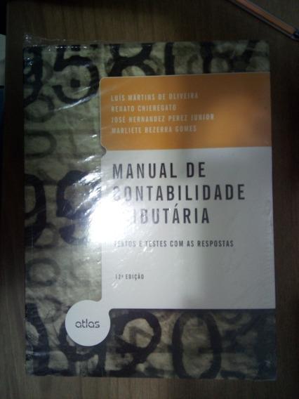 Livro Manual De Contabilidade Tributária - Oliveira