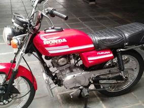 Honda Turuna 125 De Coleção, Apta A Placa Preta