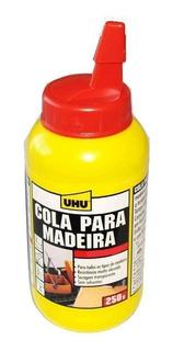 Cola Uhu Pegamento Para Madera Secado Rápido - Transparente
