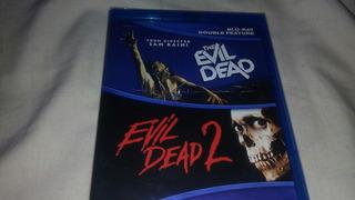 The Evil Dead 1 Y 2 En Bluray Nuevo Y Sellado